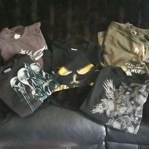 5 men's shirts